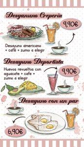 Oferta Desayunos